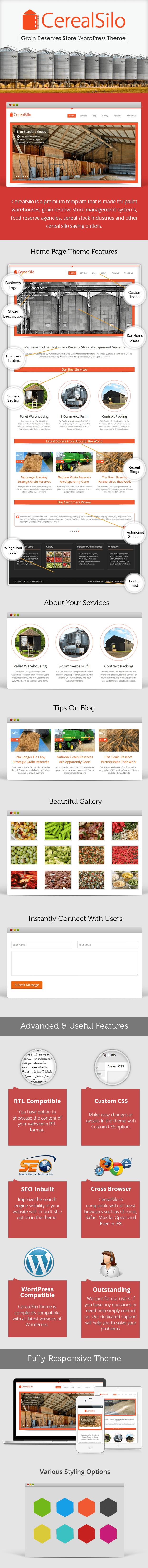 Grain Reserves Store WordPress Theme