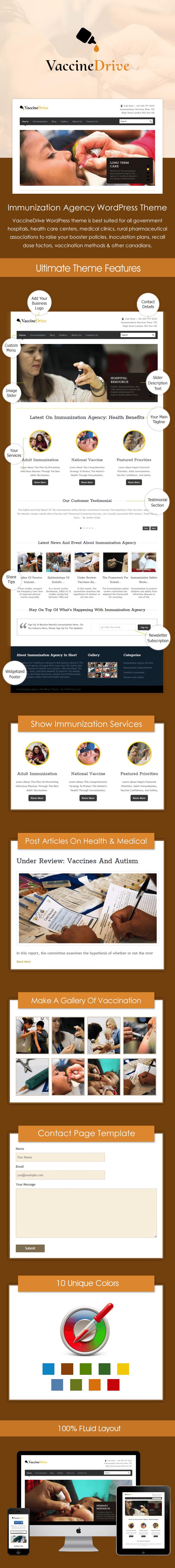 SalesPage - VaccineDrive