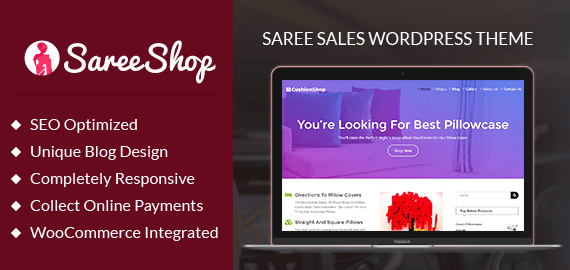 Saree Sales WordPress Theme
