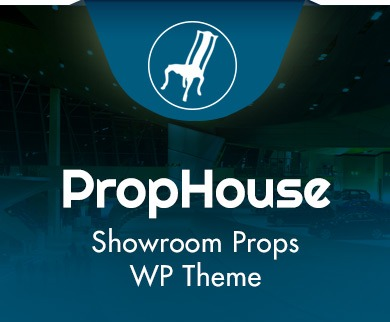 Prop House - Showroom Props WordPress Theme & Template