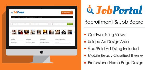 Recruitment And Job Board Agency WordPress Theme | InkThemes