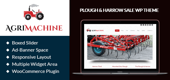 Plough And Harrow Sale WordPress Theme & Template