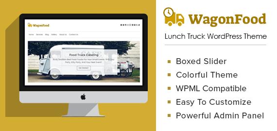 Lunch Truck WordPress Theme