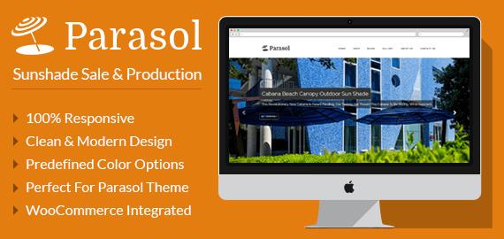 Parasol – Sunshade Sale And Production WordPress Theme