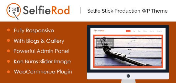 Selfie Rod – Selfie Stick Production WordPress Theme