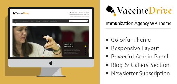 Immunization Agency WordPress Theme & Template