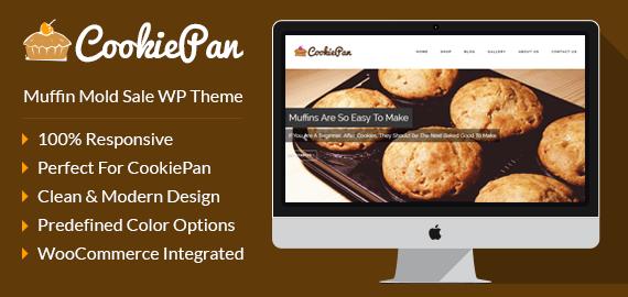 Muffin Mold Sale WordPress Theme