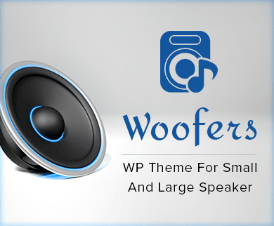 Woofers - Small And Large Speaker WordPress Theme & Template