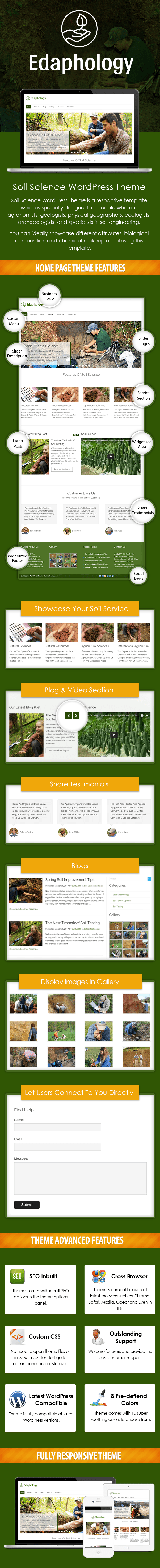 Soil Science WordPress Theme