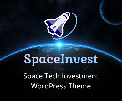 Space Invest - Space Tech Investment WordPress Theme & Template