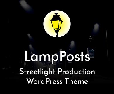 Lamp Posts - Streetlight Production WordPress Theme & Template