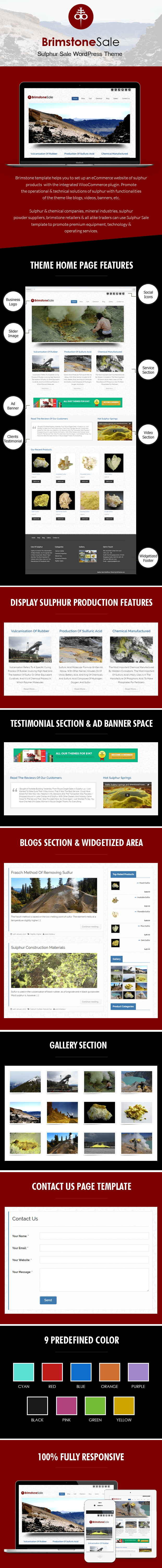 Sulphur Sale WordPress Theme
