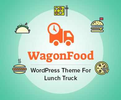 Wagon Food - Lunch Truck WordPress Theme & Template