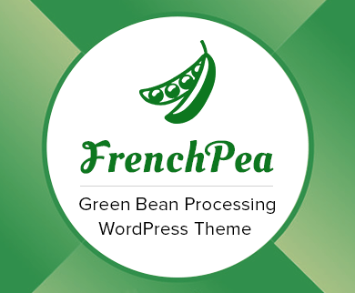 French Bean - Green Bean Processing WordPress Theme & Template