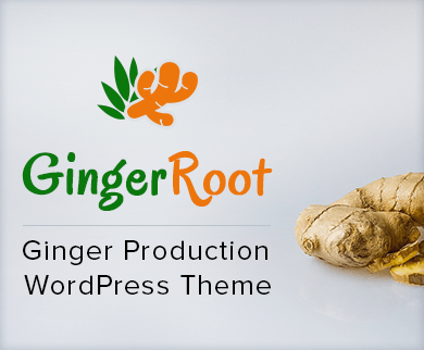 Ginger Root - Ginger Production WordPress Theme & Template
