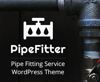 Pipe Fitter - Pipe Fitting Service WordPress Theme & Template