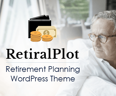 Retiral Plot - Retirement Planning WordPress Theme And Template