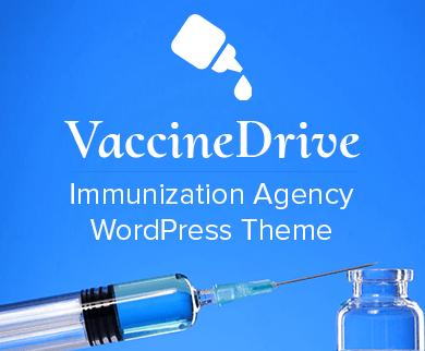 Vaccine Drive - Immunization Agency WordPress Theme & Template