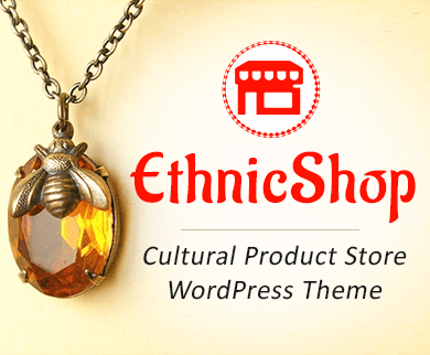 EthnicShop - Cultural Product Store WordPress Theme And Template