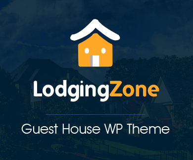 Lodging Zone - Guest House WordPress Theme & Template