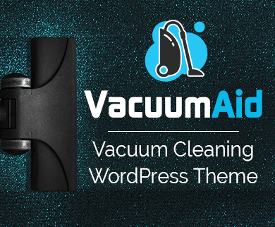 Vacuum Aid - Vacuum Cleaning WordPress Theme & Template