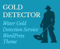 Gold Detector - Water Gold Detection Service WordPress Theme & Template