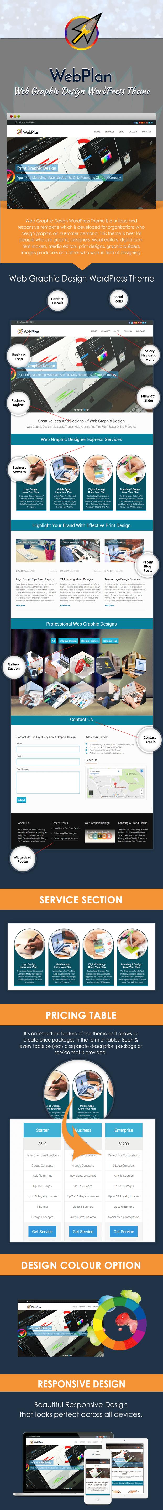 Web Graphic Design WordPress Theme