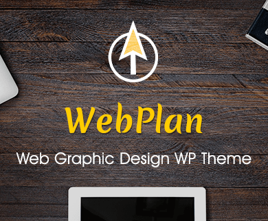 Web Plan - Web Graphic Design WordPress Theme & Template