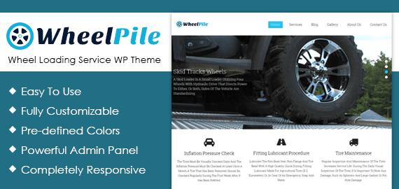 Wheel Loading Service WordPress Theme