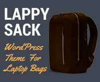 Lappy Sack - Laptop Bags Sale Ecommerce WordPress Theme & Template