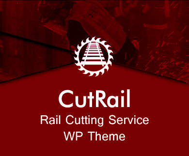 Cut Rail - Rail Cutting Service WordPress Theme & Template