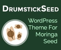 Drumstick Seed - Moringa Seed WordPress Theme & Template
