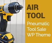 Air Tool - Pneumatic Tool Sale WordPress Theme & Template