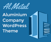 Al Metal - Aluminium Company WordPress Theme & Template