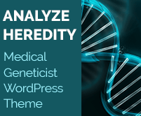 Analyze Heredity - Medical Geneticist WordPress Theme & Template