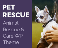 Pet Rescue - Animal Rescue And Care WordPress Theme & Template