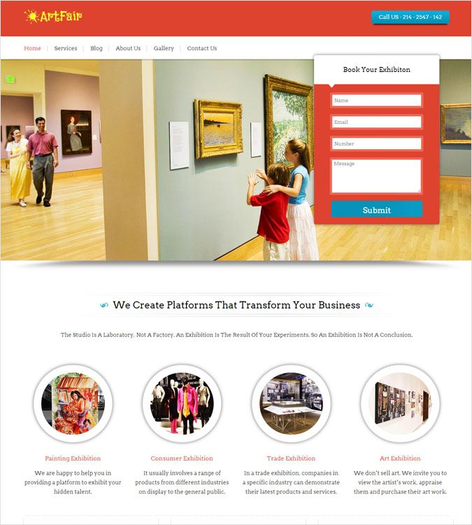 ArtFair WP theme