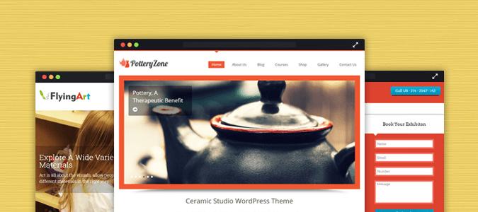 14+ Best Artist WordPress Themes 2018
