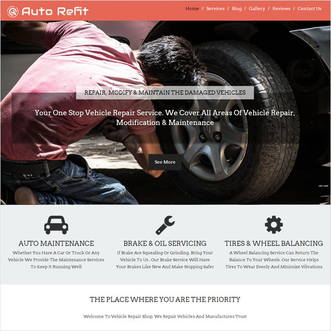 AutoRefit WP theme