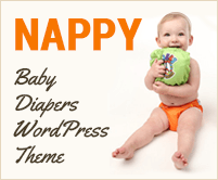 Nappy - Baby Diapers WordPress Theme & Template
