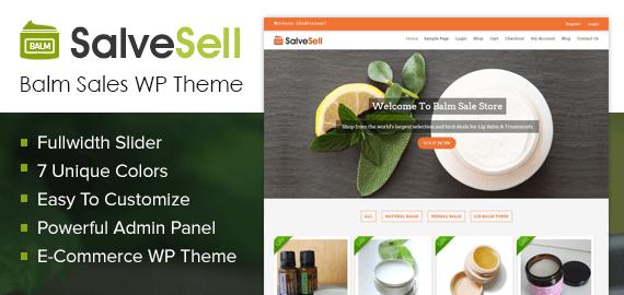 Balm Sales WordPress Theme