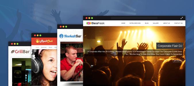 8+ Best Nightclub WordPress Themes [Free Install]
