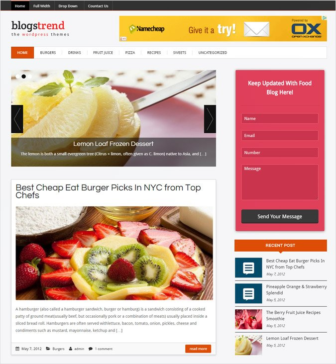 BlogsTrend WP theme