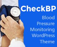Check BP - Blood Pressure Monitoring WordPress Theme &Template