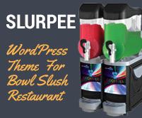 Slurpee - Bowl Slush Restaurant WordPress Theme & Template