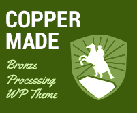 Copper Made - Bronze Processing WordPress Theme & Template
