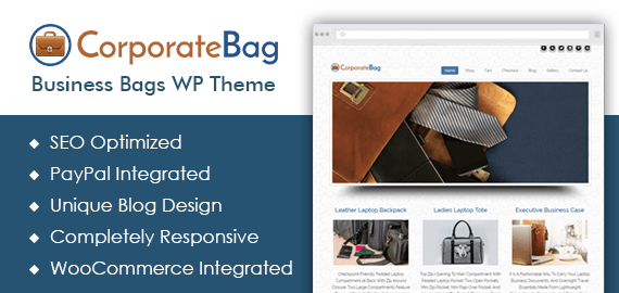Business Bags WordPress Theme
