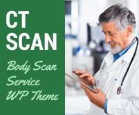 CT Scan - Body Scan Service WordPress Theme & Template