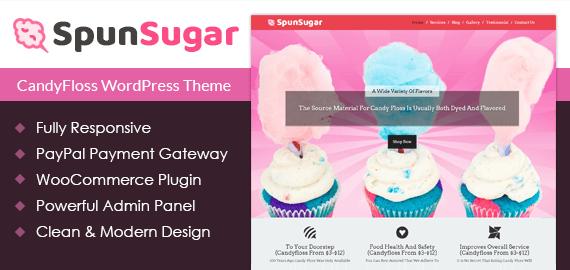 Candyfloss WordPress Theme