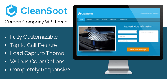 Carbon Company WordPress Theme